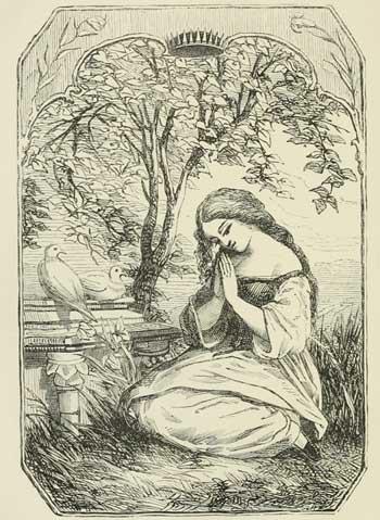 cinderella-with-pigeons-jpgEdward Henry Wehnert,1857